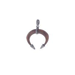 Brown Wood Horn Pendant