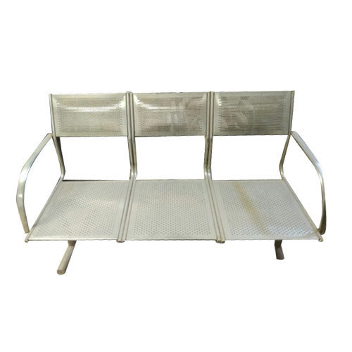 Waiting Chairs - SS Waiting Chair Manufacturer from Ahmedabad