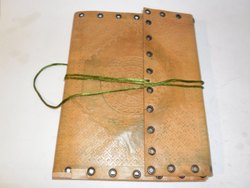 Rustic Bound Handmade Leather Writing Journal