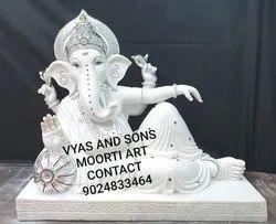 marble  Hindu god  Ganesha Murti