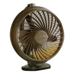 3 Blades Brown Luminous Electric Table Fan