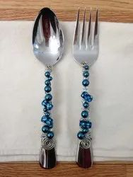 Beaded Kitchen Cutlery Set