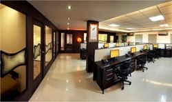 Corporate/Office Interior Designing Office Interiors, Work Provided: Wall Paper/Paint Work