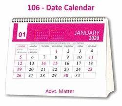 Table Calendar 106