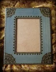 Grey Mdf Painted Wooden Photo Frames