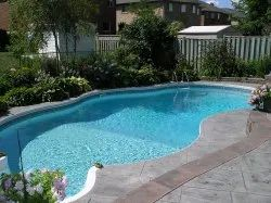 Sky Blue FRP Swimming Pool for Residential