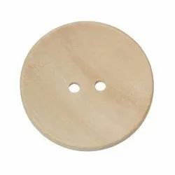 Round Wooden Buttons