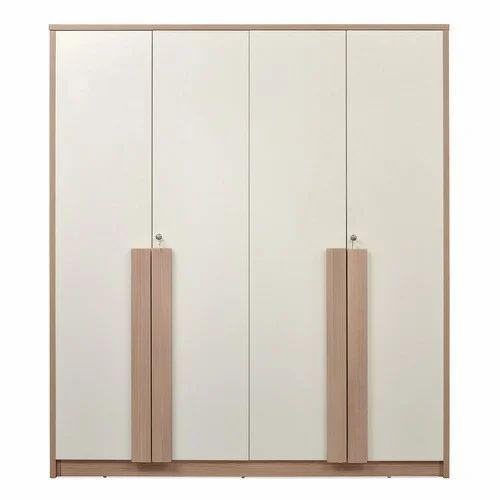 Nilkamal Polar 4 Door Wardrobe Built In Wardrobe Fitted Wardrobe