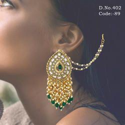 Indian Wedding Kundan Earrings