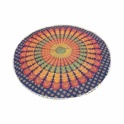 5 Pcs Lot Wholesale Mandala Round Roundie Beach Throw Tapestry Mandala