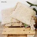 2020 High Quality Bohemian Macrame Cushion Covers Handmade Macrame Pillows 18x18 16X16
