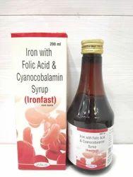 Ferric Ammonium Citrate 32.8 Mg Cyanocobalamin 7.5 Mcg Folic Acid 0.5 Mg