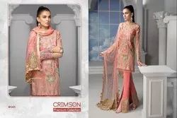 Shree Fabs Crimson Fancy Salwar Suit