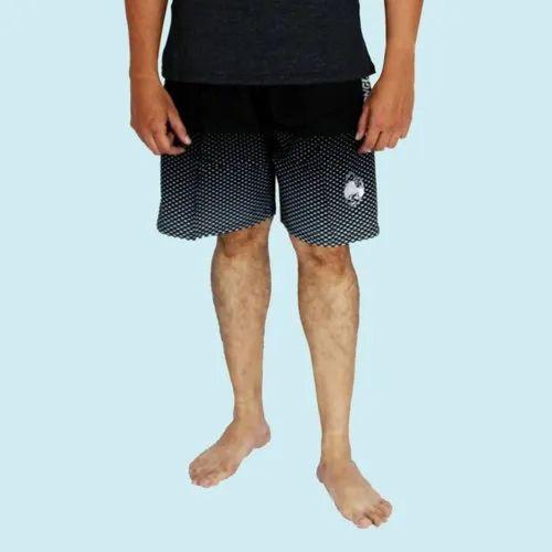 fe6b6e18919 Fab-5 Polyester Black Dotted Printed Men's Swim Shorts, Rs 1152 ...