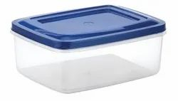 Rectangular Plastic Storage Container Crystal 7003