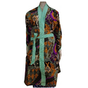 Handmade Printed Cotton Bathrobe