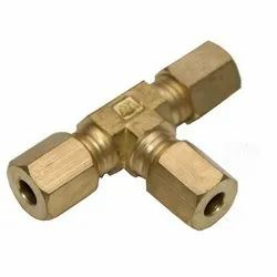 Brass Tee for Plumbing Pipe
