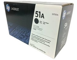 HP 51a Black Laserjet Toner Cartridge, Q7551a