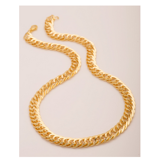 dbf3e1d39c970 Gold Plated Rope Chain For Men