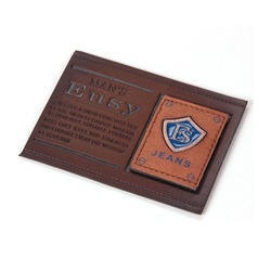 Designer Leather Patch