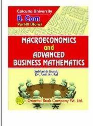 Macroeconomics And Advanced Business Mathematics Book