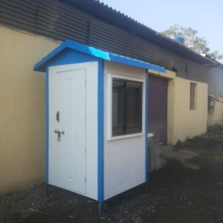 FRP Portable Security Cabin