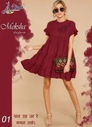 Designer Rayon Meksha Western, 19-35