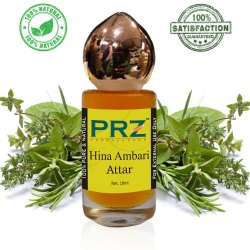 PRZ Hina Ambari Attar Roll-On for Unisex