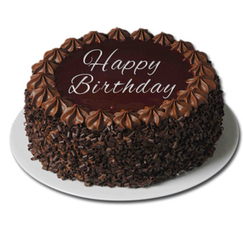 Happy Birthday Choco Cake at Rs 769 /piece | Chocolate Cake | ID ...