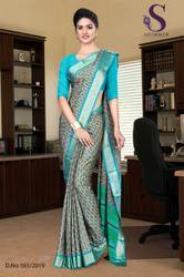 Hospital Uniform Sarees