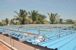 Aluminium Solar Structure for Solar Panels Mounting