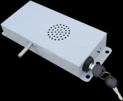 Mild Steel White Shop Security System