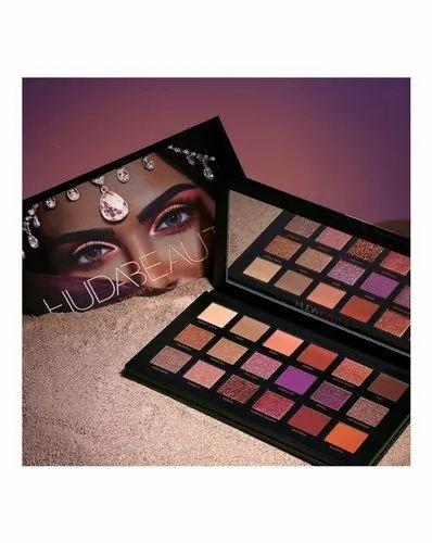 HB Multicolor Huda Beauty Nude Eye Shadow Palette, Pressed