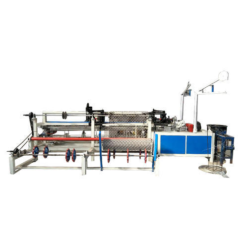 Automatic Chain Link Fence Machine Voltage 415 V Rs