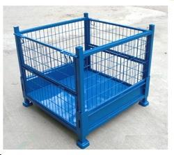Wire Net Box Trolley, Capacity: 500 to 1000 kg