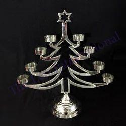Decorative Christmas Tree Shape Candle Holder for Christmas Decoration