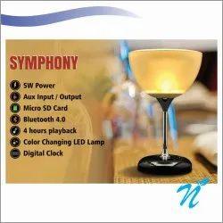 Wine Glass Lamp Speaker
