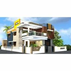 Concrete Frame Structures Residential Projects Bungalow Construction Service