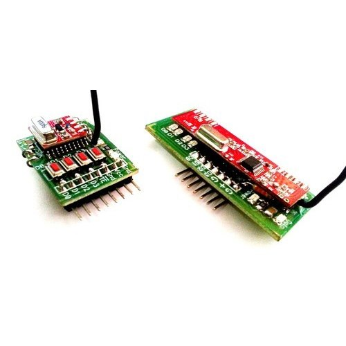 Rf Transmitter & Receiver 433Mhz with Encoder and Decoder - Expand