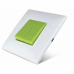 KOLORS Kaleido Neon Green Modular Switch, 240V