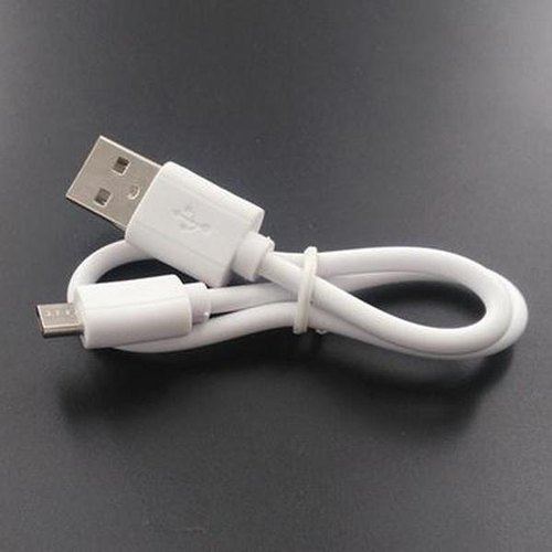 High Speed Power Bank with Micro USB Charging Cable Short Flat Android Cable
