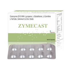 Boost Energy ZYMECAST Tablet, Packaging Size: 10 Each Strip