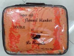 Plain Bedroom Woolen Blanket, Packaging Type: Pp Bag