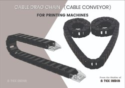 Cable Drag Chain (Cable Conveyor) - Printing Machine, CNC Machines