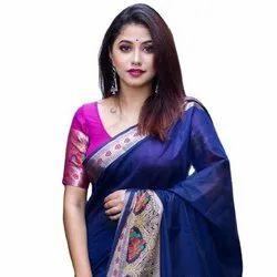 Indian Pure Cotton Silk Sarees