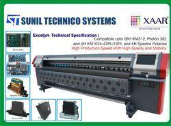 Usb 512 Flex Printing Machine Konica Minolta LCD Model, Model/Type: Exceljet, Capacity: 2500mm