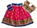 Gujarat Special Chaniya Choli - Baby Girl Lehenga Choli - 28 Size - 7 To 10 Year