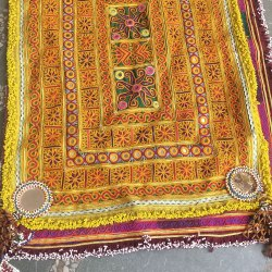 Vintage Afgani Embroidery Wall Hanging Home Decor