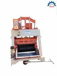 Pressing Type Solid & Hollow Block Making Machine