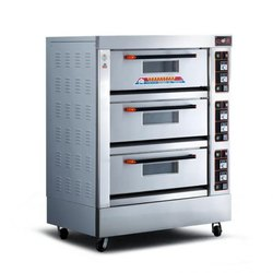 3 Deck 6 Tray Electric Deck Oven